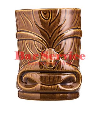 """Стакан д/коктейлей """"Тики"""";керамика 450мл, коричневый. в Иваново"""
