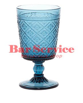 """Бокал д/вина """"Глория""""; стекло; 240мл; синий в Иваново"""
