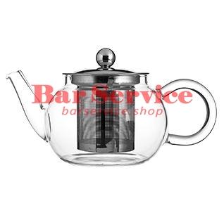 Чайник «Проотель»;  термост.стекло;  0,6л;  D=78мм в Иваново