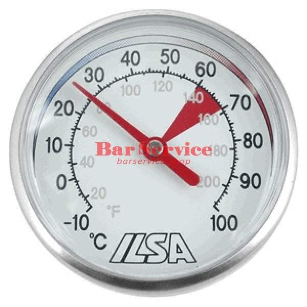 Термометр д/молока; сталь; D=45,L=138/125,B=55мм; металлич. в Иваново