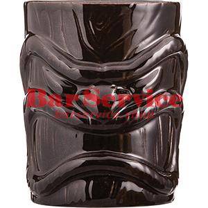 Стакан д/коктейлей «Тики», керамика; 450мл; коричнев. в Иваново