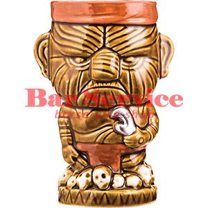 Стакан д/коктейлей «Тики» керамика; 450мл; коричнев. (01170825) в Иваново