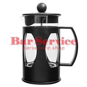 Чайник-кофейник Черный Объем: 600 мл. (френч пресс) в Иваново