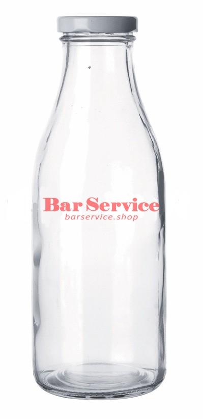 Бутылка с крышкой для молока, соков 500мл в Иваново