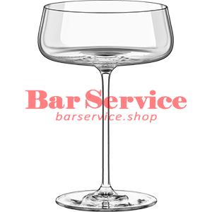 Шампан.-блюдце Мод; хр. стекло 425мл; D=120,H=170мм прозр в Иваново