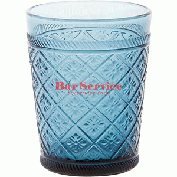 Стакан Глория; стекло; 350мл; синий в Иваново