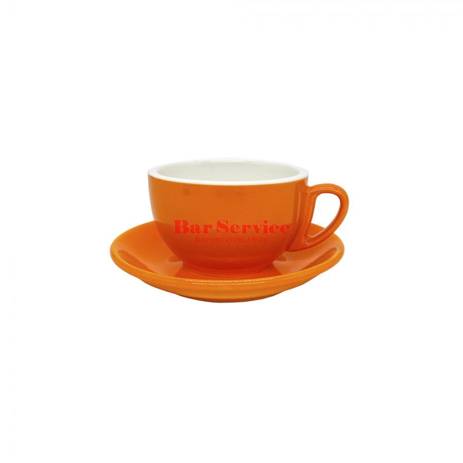 Чайная пара 270 мл; оранжевый цвет; Barista P.L. в Иваново